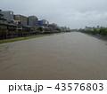 河川増水 43576803