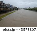河川増水 43576807