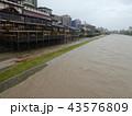 河川増水 43576809