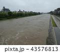 河川増水 43576813
