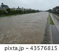 河川増水 43576815