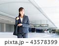 ビジネスウーマン(空港)  43578399