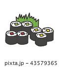 巻き寿司 43579365