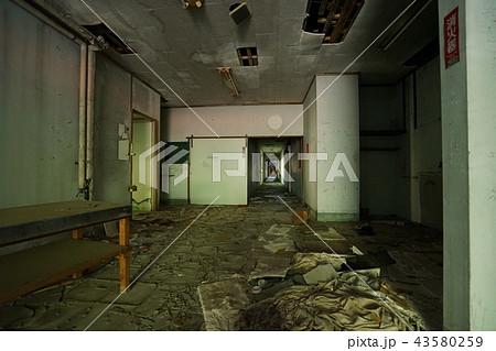 信州観光ホテル 廃ホテル 廃旅館 内部 通路 43580259