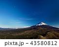 富士山 山 風景の写真 43580812
