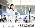 空港 女性 若いの写真 43582036