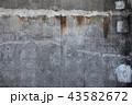 古びた壁のテクスチャ 43582672