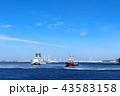横浜みなとみらいの港湾 43583158