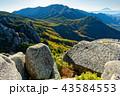 金峰山 富士山 山の写真 43584553