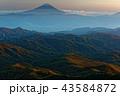金峰山 富士山 秋の写真 43584872