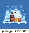 ウインター 冬 ベクトルのイラスト 43589082