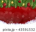 クリスマスデコレーション 43591532