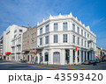 street view of george town, penang, malaysia 43593420