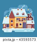 住宅 住居 家のイラスト 43593573