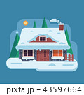 住宅 住居 家のイラスト 43597664