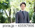 ビジネスマン 人物 男性の写真 43597906