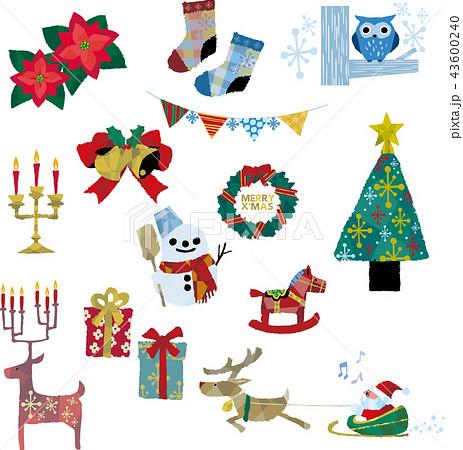 クリスマス飾りいろいろ 43600240