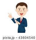 スマートフォン ベクター ビジネスのイラスト 43604540