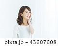 女性 笑顔 1人の写真 43607608
