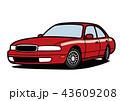 自動車 車 ベクターのイラスト 43609208