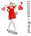 女性 ファッション モデルのイラスト 43610555