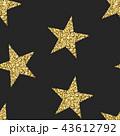 Seamless pattern with glittering stars. Shining 43612792