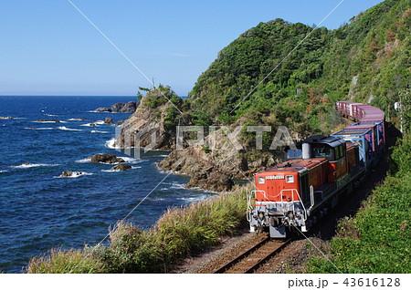 山陰本線 迂回 貨物列車3 43616128