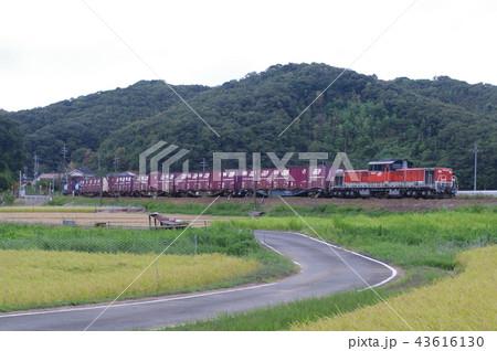 山陰本線 迂回 貨物列車6 43616130