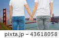 カップル 二人 二人連れの写真 43618058