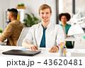 人 オフィス PCの写真 43620481