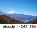 山 富士山 三つ峠の写真 43624690