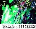 ネオン 背景 光のイラスト 43628882