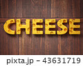チーズ 単語 立体のイラスト 43631719