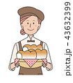 パン屋さん 43632399