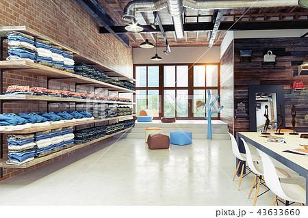 modern boutique interior 43633660