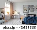 modern bedroom interior 43633665