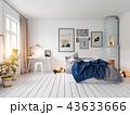 modern bedroom interior 43633666