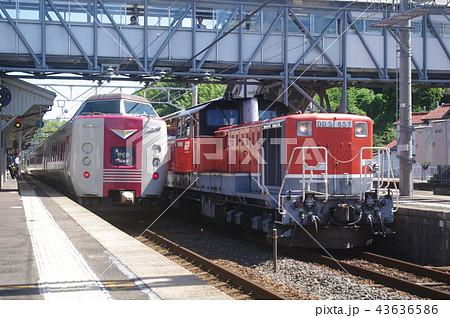 山陰本線 迂回 貨物列車9 43636586