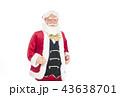 語りかけるサンタクロース クリスマスイメージ イメージ素材 43638701