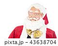 語りかけるサンタクロース クリスマスイメージ イメージ素材 43638704