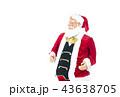 語りかけるサンタクロース クリスマスイメージ イメージ素材 43638705