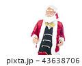 語りかけるサンタクロース クリスマスイメージ イメージ素材 43638706