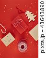 クリスマス ギフト プレゼントの写真 43643890