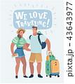 トラベル 旅 旅行のイラスト 43643977