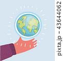 世界 生態 エコロジーのイラスト 43644062