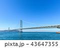 明石海峡大橋  43647355