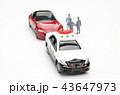 自動車 パトカー 交通取り締まりの写真 43647973