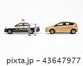 自動車 パトカー 交通取り締まりの写真 43647977