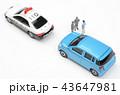 自動車 パトカー 交通取り締まりの写真 43647981
