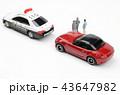 自動車 パトカー 交通取り締まりの写真 43647982